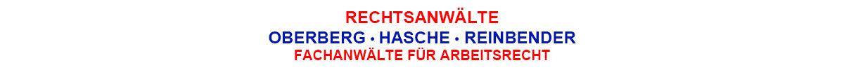 Oberberg • Hasche • Reinbender