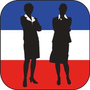 Zwei Frauen als Führungskräfte